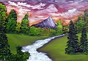 Sloan Paintings - Mystery of the Mountain by Ervin Sloan