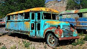 Bus Photo Originals - Mystic Bus by Bob Moore