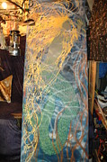 Owner Tapestries - Textiles - Mystic Mermaid II by Vince Anthony