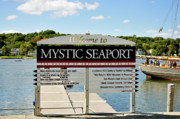 Seaport Metal Prints - Mystic Seaport Metal Print by Betty LaRue