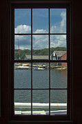 Seaport Posters - Mystic Seaport II Poster by Bob Retnauer