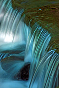 Swallow Falls State Park Art - Mystical Falls by Mike Flynn