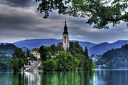 Bled Posters - Mystical Lake Bled Poster by Don Wolf