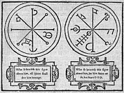 Mystical Pendants, 16th Century Print by Middle Temple Library
