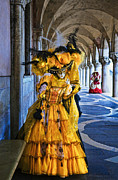 Venice Photos - Mystique of Carnevale by Renee Doyle