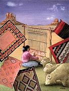 Native American Paintings - N is for Navajo... by Will Bullas