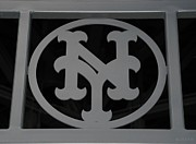 New York Mets Stadium Digital Art Posters - N Y Poster by Rob Hans