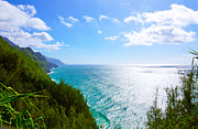 Kalalau Trail Posters - Na Pali Coastline  Poster by Kevin Smith