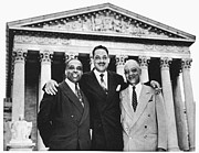 Civil Rights Movement Prints - Naacp Attorneys, 1954 Print by Granger