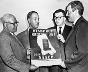 Thurgood Posters - Naacp Leaders, 1956 Poster by Granger