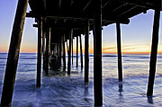 Pensacola Fishing Pier Posters - Nags Head Pier - A Different View Poster by Rob Travis
