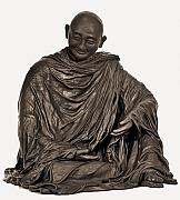 Buddhist Sculptures - Namaste by Kristie Sheehy