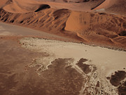 Flight Prints - Namibia Aerial IV Print by Nina Papiorek