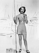 1950s Portraits Metal Prints - Nancy Goes To Rio, Jane Powell, 1950 Metal Print by Everett