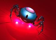 Nanorobot, Conceptual Artwork Print by Victor Habbick Visions