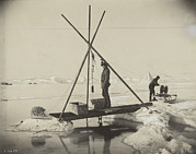 Data Photos - Nansen Takes A Reading Of Deep Arctic by Fridtjof Nansen