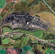 Helen Posters - Nant Helen Coal Mine, Uk, Aerial Image Poster by Getmapping Plc