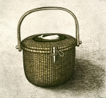 Etching Mixed Media - Nantucket Basket by Charles Harden