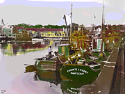 By Charles Shoup Mixed Media - Nantucket by Charles Shoup