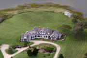 Ack Aerial - Nantucket Harbor House 3 by Duncan Pearson