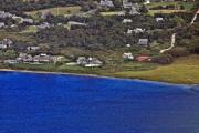Ack Aerial - Nantucket Harbor House 4 by Duncan Pearson