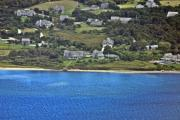 Ack Aerial - Nantucket Harbor House 5 by Duncan Pearson