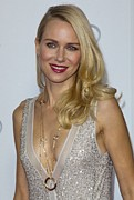 Gold Necklace Posters - Naomi Watts At Arrivals For Afi Fest Poster by Everett