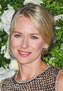 Hair Bun Metal Prints - Naomi Watts At Arrivals For Chanel 6th Metal Print by Everett