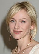 Naked Photo Framed Prints - Naomi Watts At Arrivals For Naked Framed Print by Everett