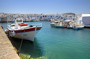 Greece Photo Prints - Naoussa - Paros Print by Joana Kruse
