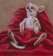 Humor. Pastels - Nap Hard by Barbara Keith