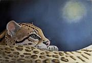 Endangered Pastels Prints - Nap Time  Print by Ceci Watson