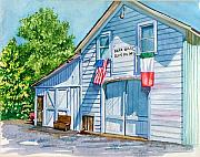Olive Oil Painting Posters - Napa Valley Olive Oil Mfg Poster by Gail Chandler