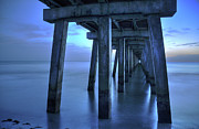 Beach Photograph Photos - Naples Pier  by Kelly Wade