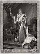 Napoleon Bonaparte Prints - Napoleon I, Emperor Of France Print by Photo Researchers