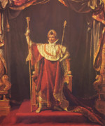 Napoleonic Painting Prints - Napoleon Print by War Is Hell Store