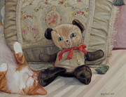 Bedtime Paintings - Naptime by Suzn Smith