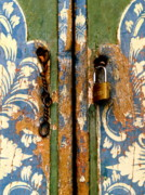 Painted Door Prints - Narmada Temple Lombok Indonesia 39 Print by Per Lidvall