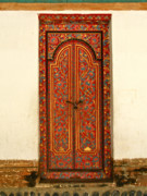 Painted Door Prints - Narmada Temple Lombok Indonesia 64 Print by Per Lidvall
