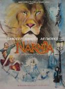 Goldblum Drawings - Narnia by Sandeep Kumar Sahota