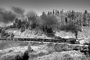 Steam Train Prints Art - Narrow Gauge Steam by Ken Smith