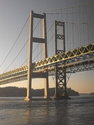 Commencement Bay Prints - Narrows Bridge Print by Paulina Roybal