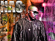 Rap Mixed Media - Nas by The DigArtisT