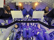 Enterprise Photo Prints - Nasa Astronauts And Industry Experts Print by Everett