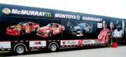 Racing Number Photos - NASCAR Merchandise Van by Jamie Baldwin