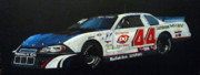 Nascar Paintings - Nascar No44 by Richard Le Page