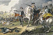 English Civil War Prints - Naseby Battle, 1645 Print by Granger