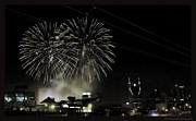 Nashville Skyline Photos - Nashville 4th of July by Sheri Bartoszek
