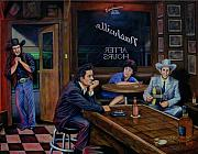 Country Music Painting Originals - Nashville After Hours by Antonio F Branco