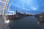 Cumberland River Framed Prints - Nashville Skyline Framed Print by Sven Brogren